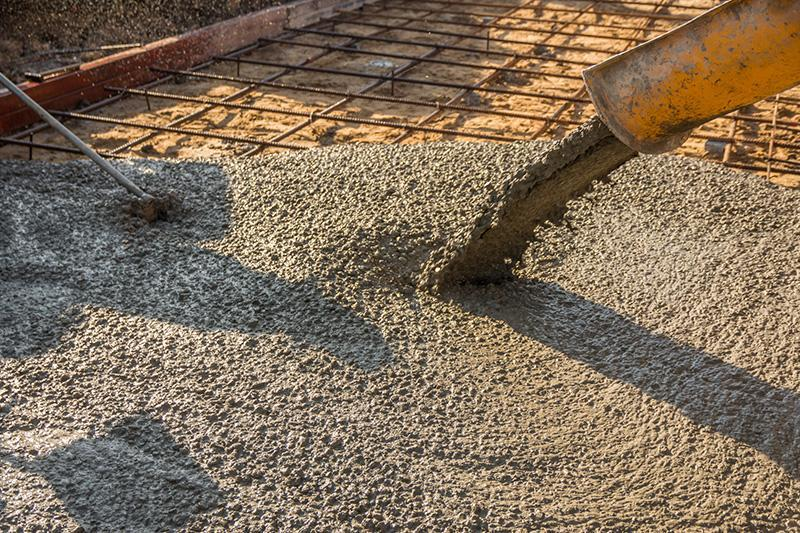 beton ciemny